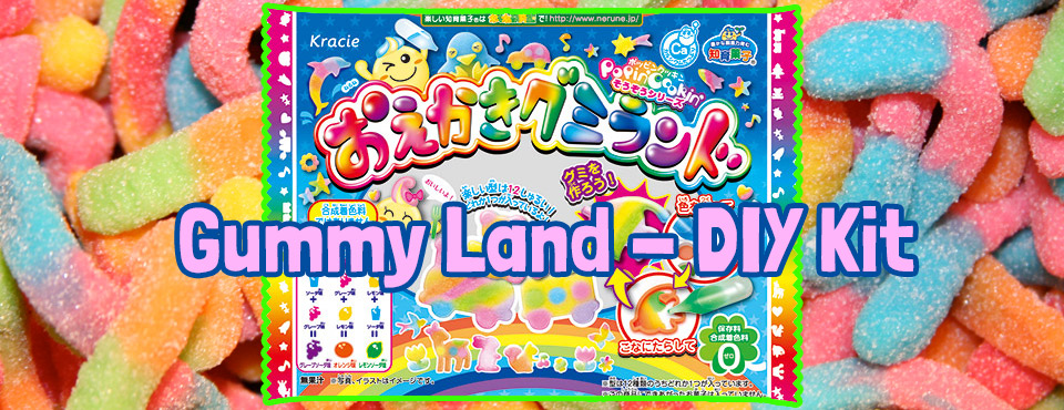 ZenPop Sweet Pack - Gummy Land DIY Instructions