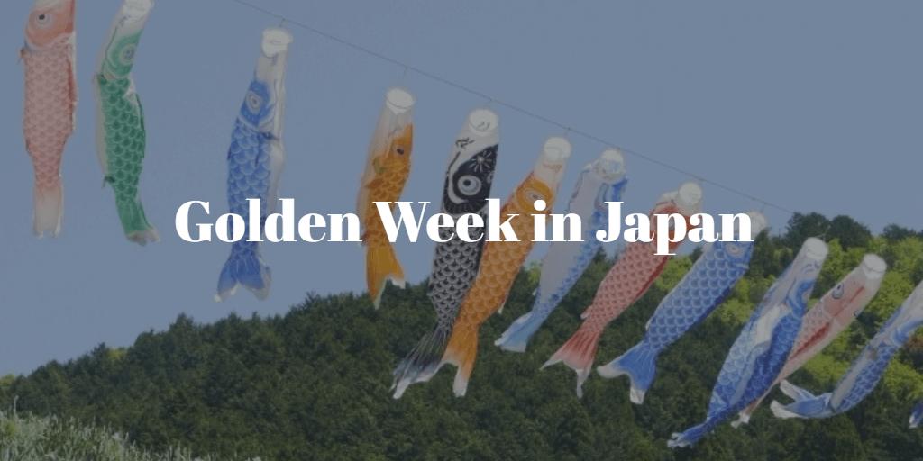 'Golden Week' in Japan