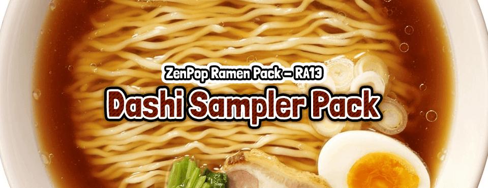 Dashi Sampler Pack - Released in February 2018