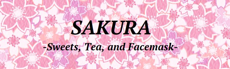 SAKURA - Sweets, Tea, and Facemask-