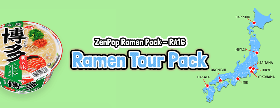 Ramen Tour Pack - Released in May 2018