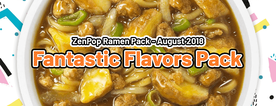 Fantastic Flavors Pack - Released in August 2018