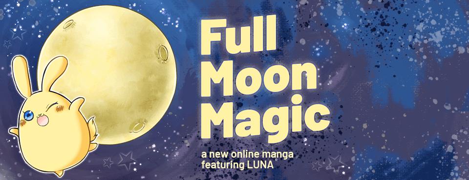 Full Moon Magic - Nouveau Manga de notre mascotte Luna