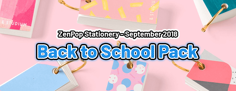 Back to School Pack - Released in September 2018