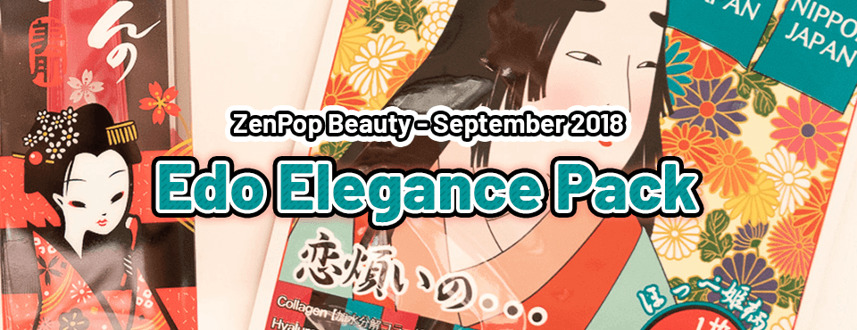 Last ZenPop Beauty Pack - Released in September 2018
