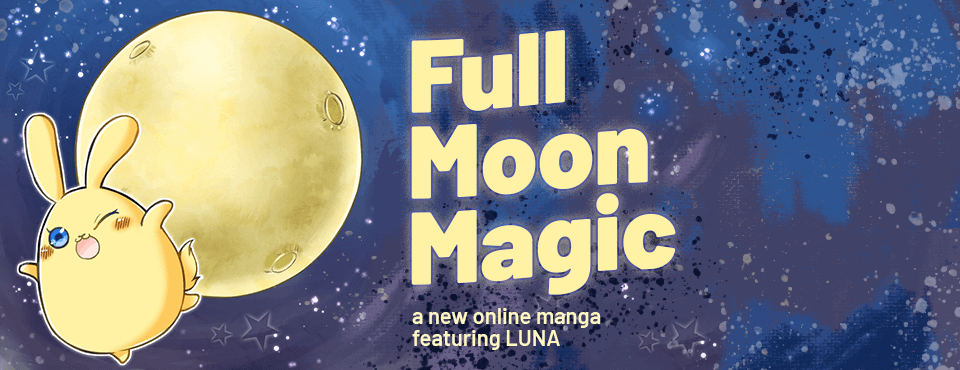 Full Moon Magic - A New Online Manga Featuring LUNA