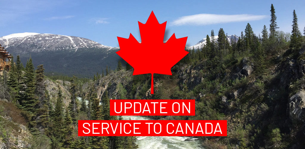 Canada Strike Update / Shipping delays
