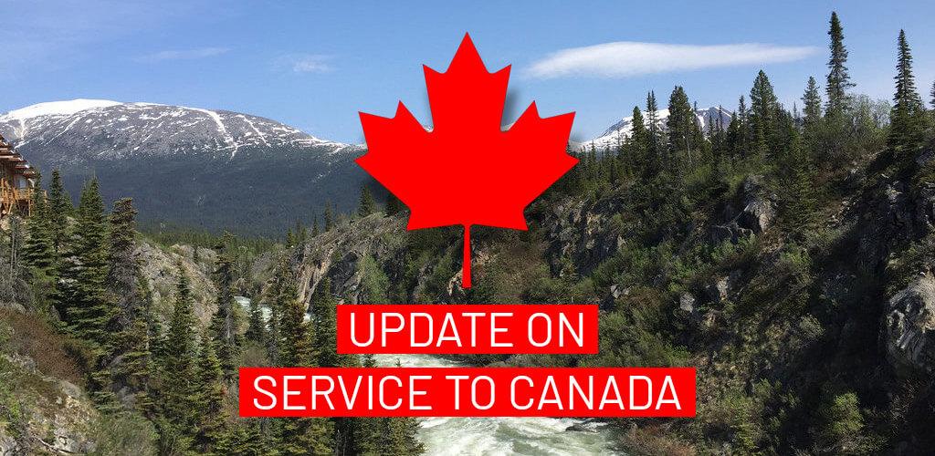 Grève au Canada - Mise à jour