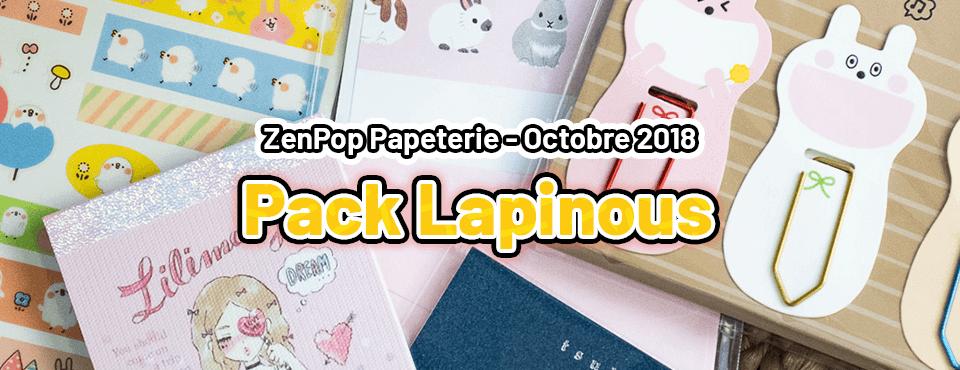 Pack Lapinous - Octobre 2018