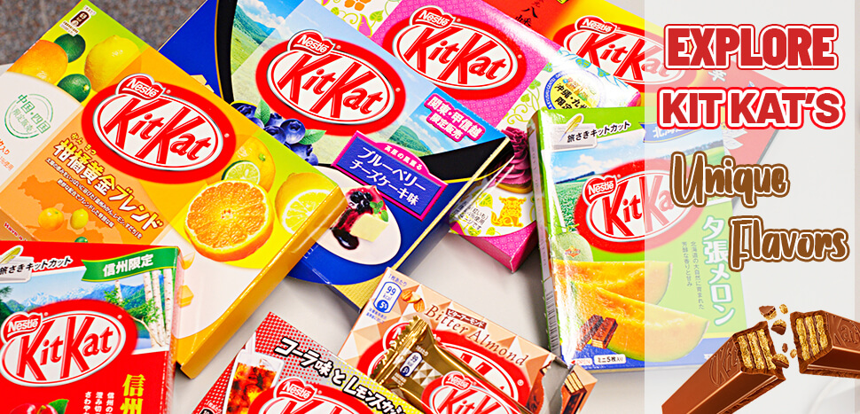 Explore Kit Kat's Unique Flavors