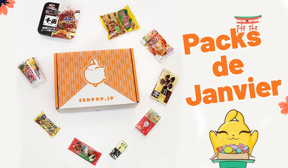 Packs ZenPop - Janvier 2019