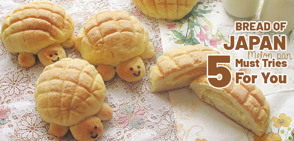Bread of Japan - 5 must tries for you