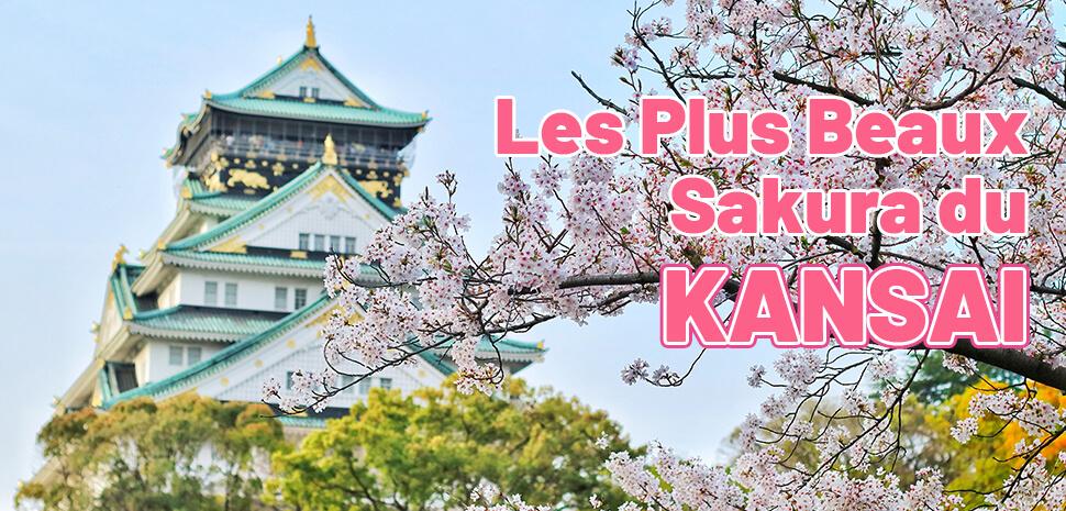 Les Plus Beaux Sakura du Kansai