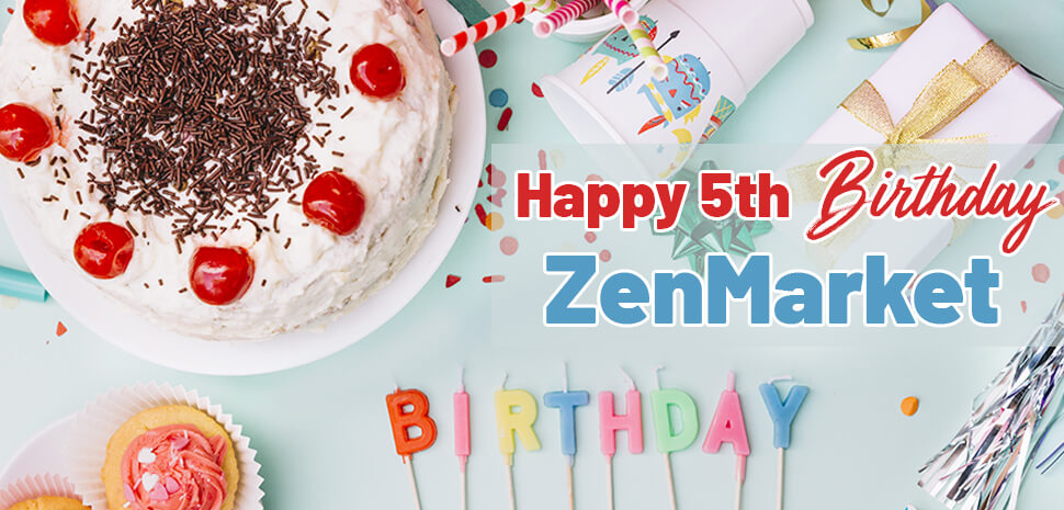 Happy Birthday to ZenMarket!