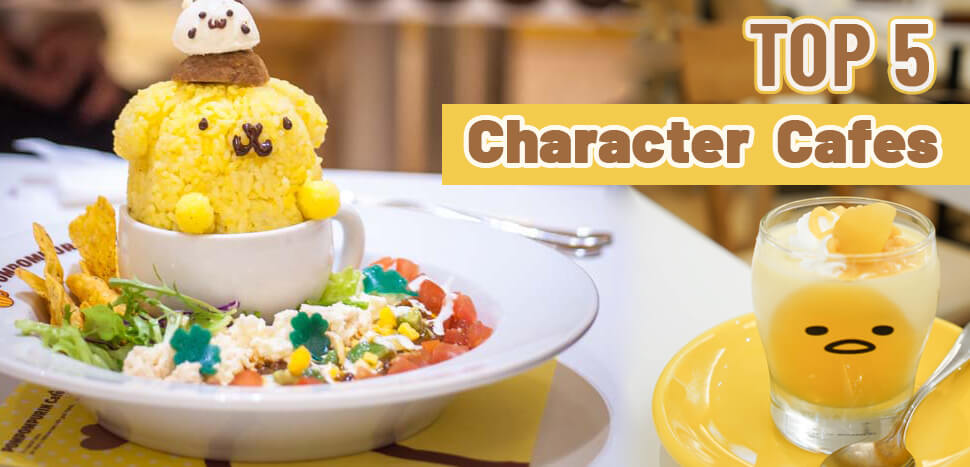 Top 5 Character Cafes in Osaka
