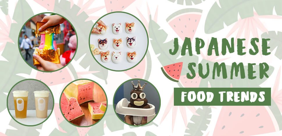 5 Japanese Summer Food Trends