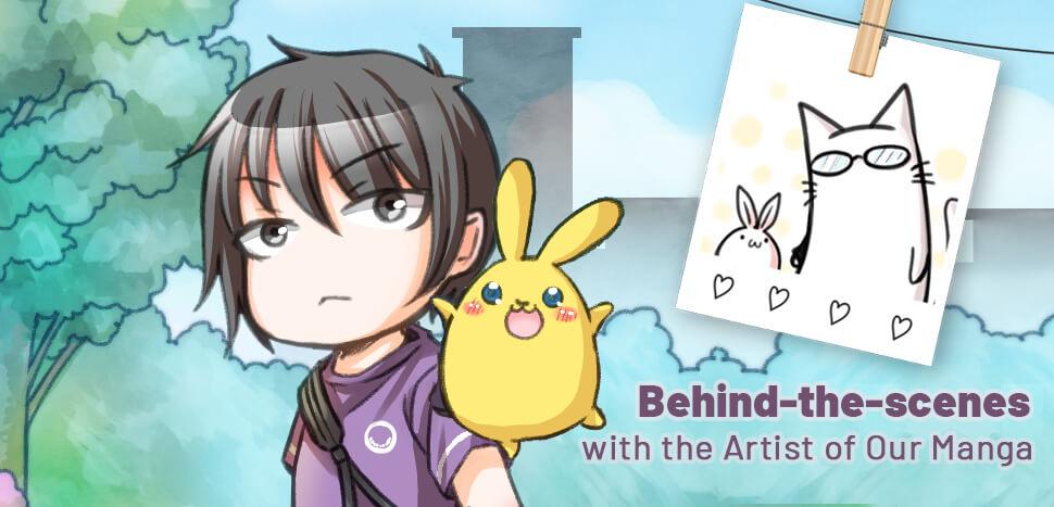 Behind-the-Scenes with the Artist of ZenPop's Manga