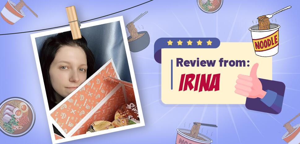 Reviews from ZenPop's Top Fans: Irina