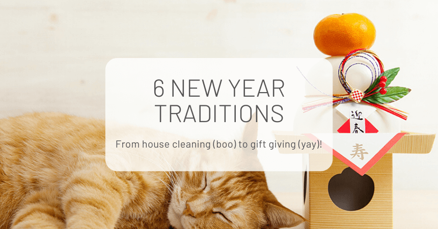 6 New Year Japanese Traditions
