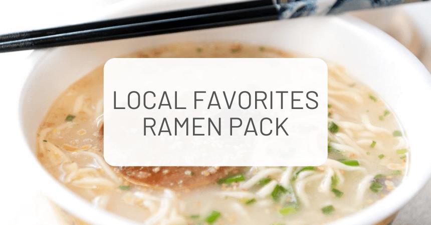 ZenPop's Japanese Ramen Unboxing + Giveaway: Local Favorites (September)