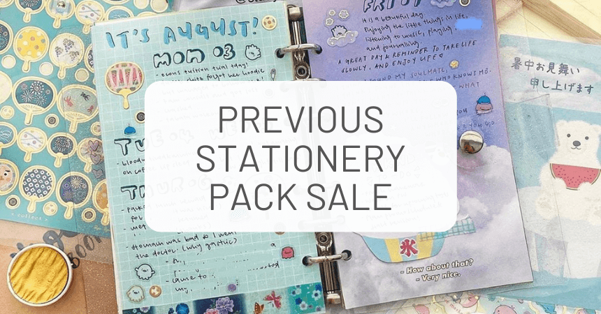 Previous ZenPop Stationery Packs On Sale