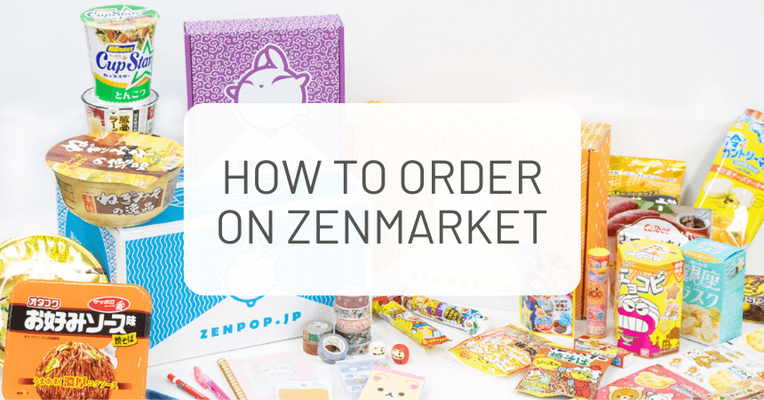 How to Order ZenPop Packs on ZenMarket