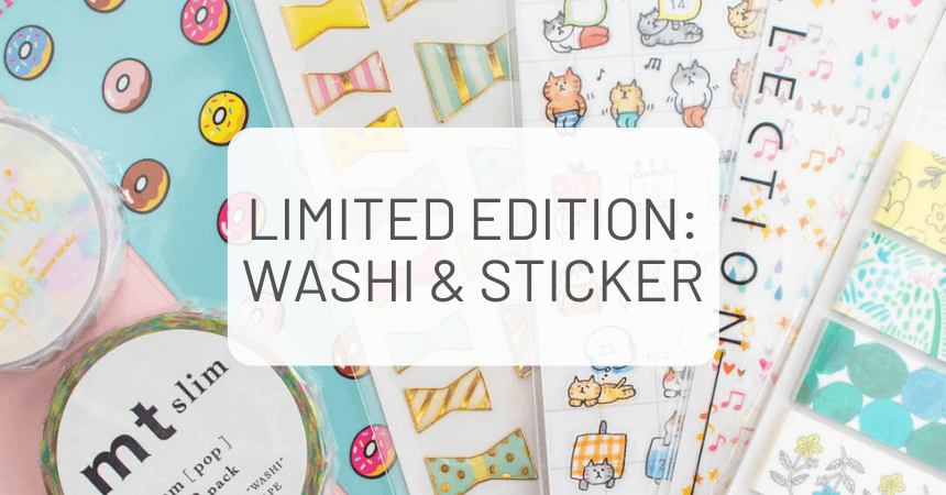 ZenPop's Limited Edition Pack: Washi & Sticker Lover