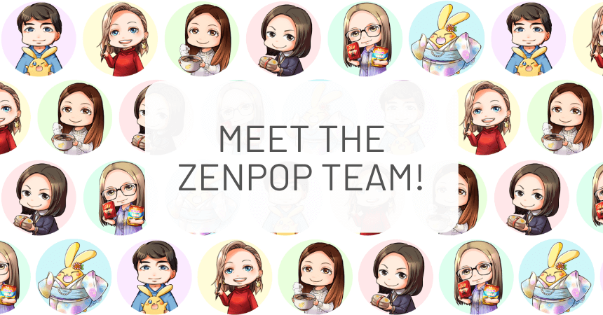 Meet the ZenPop Team...As Manga Characters!