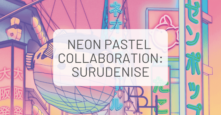 Stationery Pack Collaboration with Artist, Surudenise