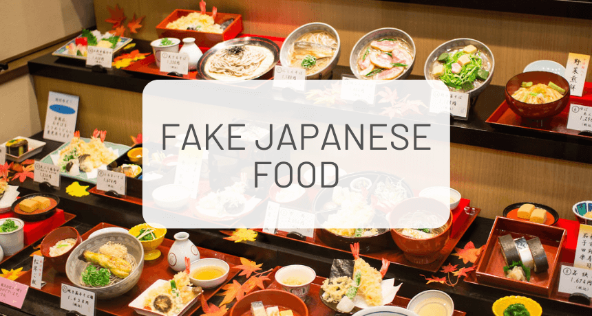 How is Japanese Fake Food Made?