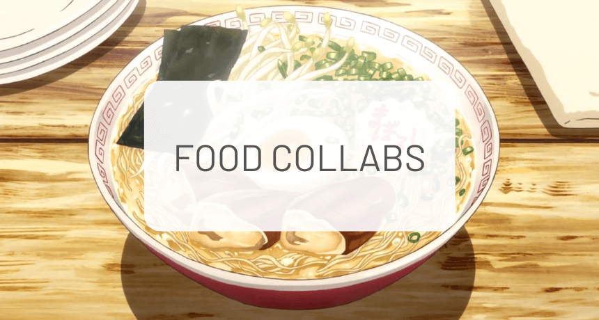 Awesome Japanese Food Collaborations