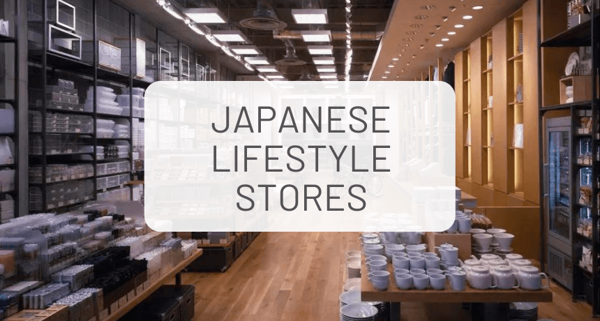 Affordable Japanese Lifestyle Stores