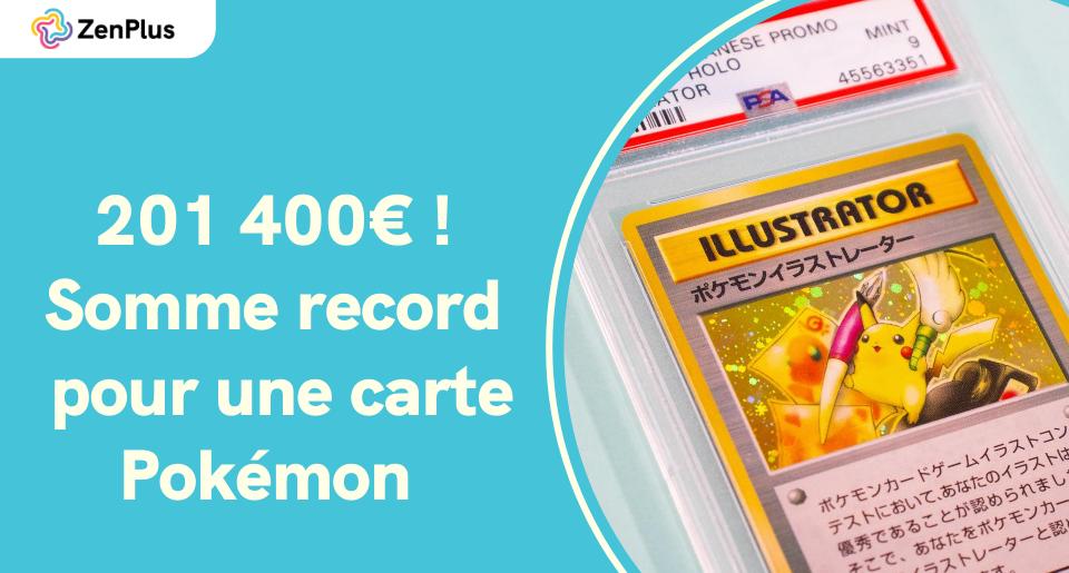 Une Carte Pokemon Pikachu Illustrator Se Vend 201 400 Zenmarket Jp Shopping Service Proxy Au Japon