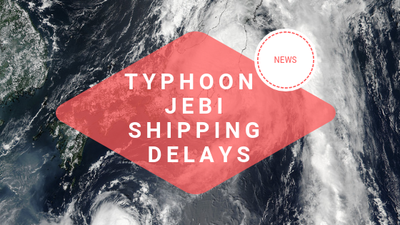 Typhoon Jebi Delays