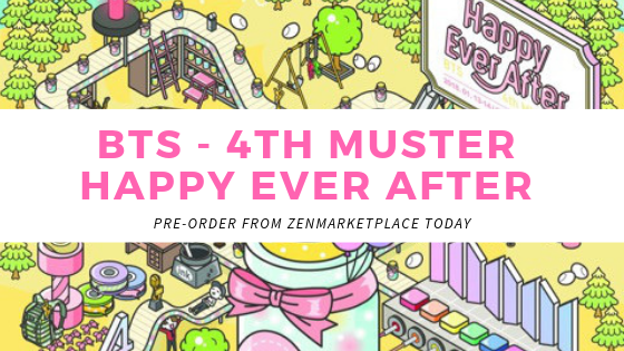 BTS 4th Muster Happy Ever After - ZenMarket jp - Japan
