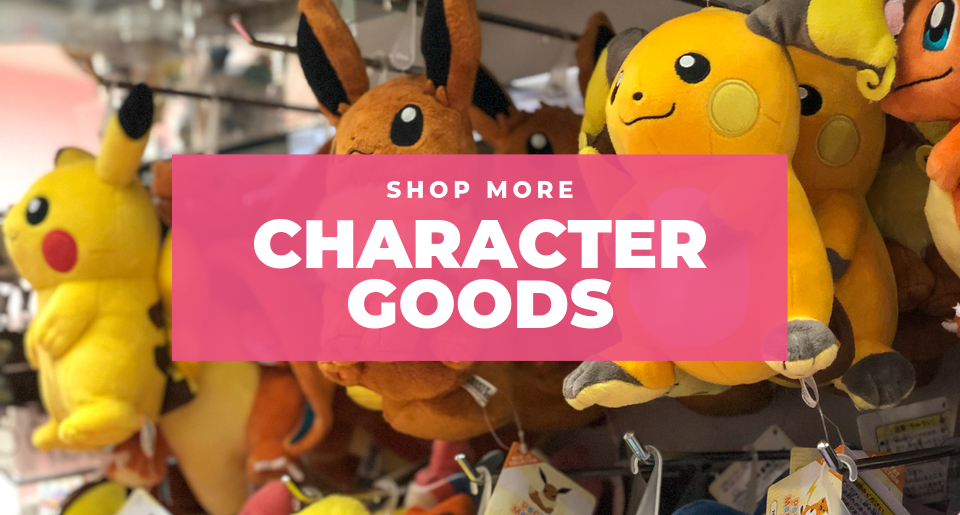 Shop more characters goods with ZenPlus