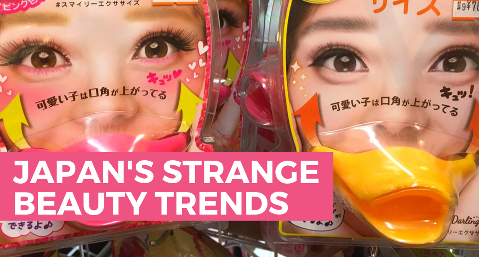Japan's strangest beauty trends