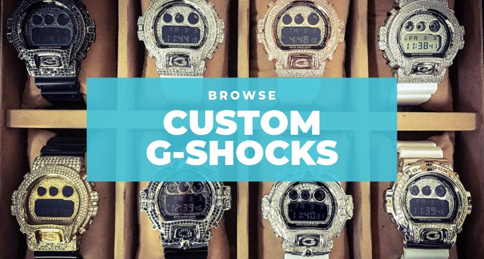 Shop custom g-shock watches