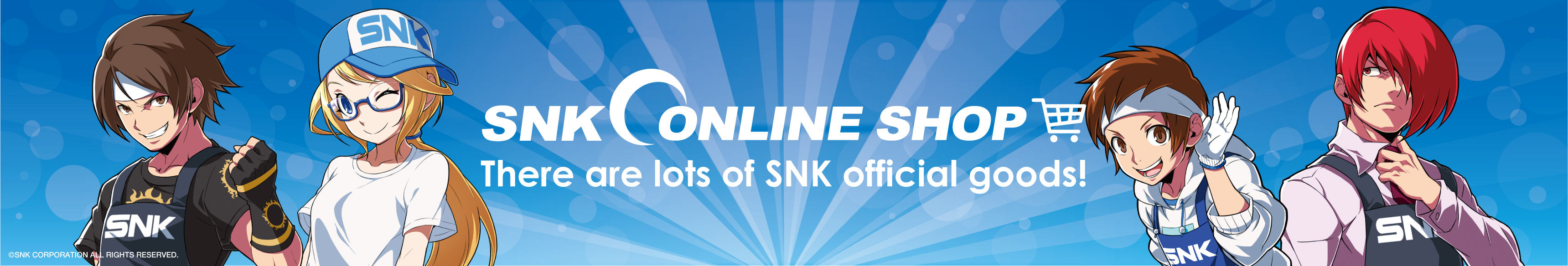 Shop the official SNK International store only on ZenPlus