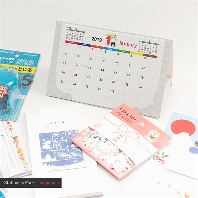 Japanese Stationery Pack