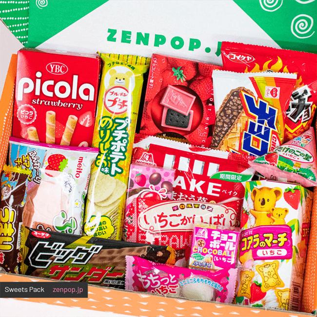 日本零食禮盒