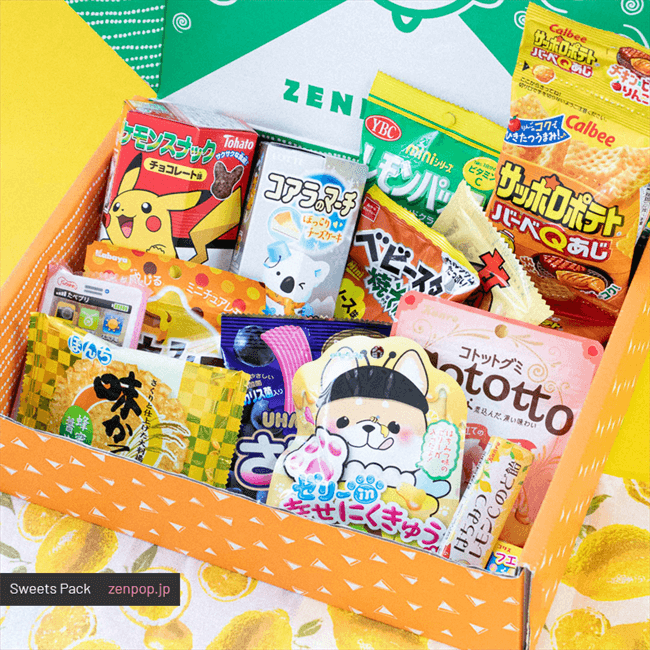 Japanese Sweets Pack