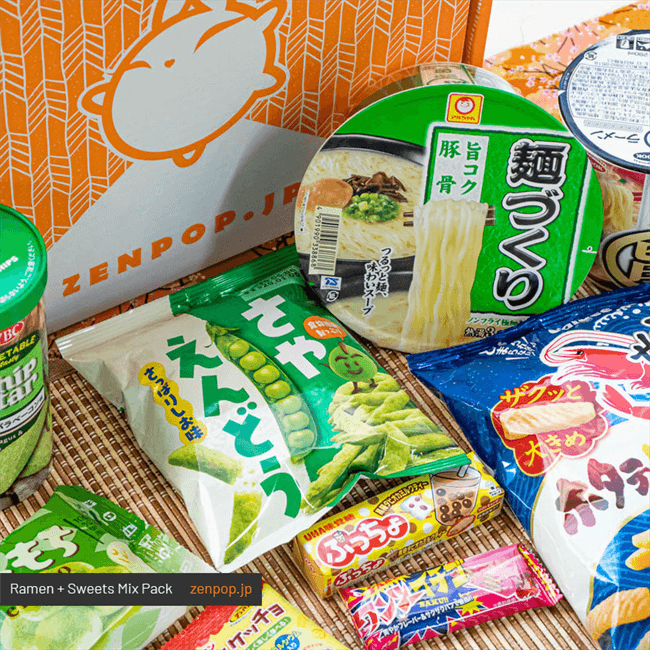 Japanese Ramen + Sweets Mix Pack