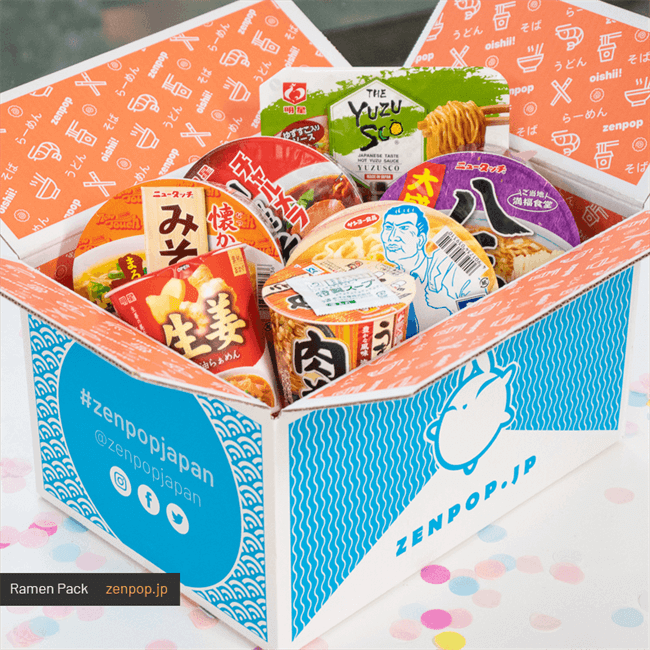 Japanese Ramen Subscription Boxes