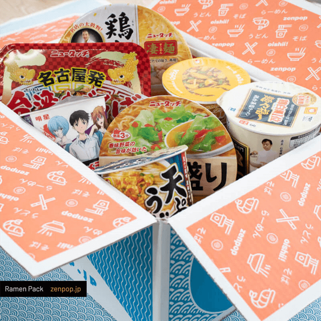 Japanese Ramen Subscription Boxes