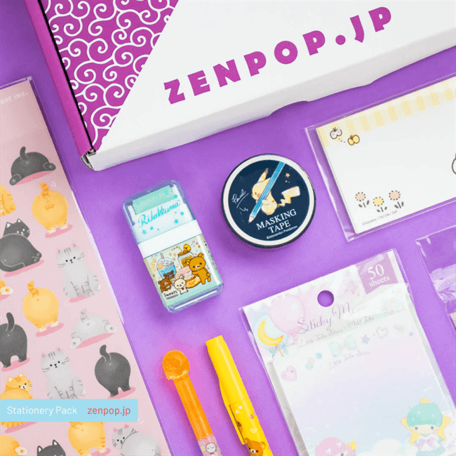 September's Kawaii Characters Stationery Pack