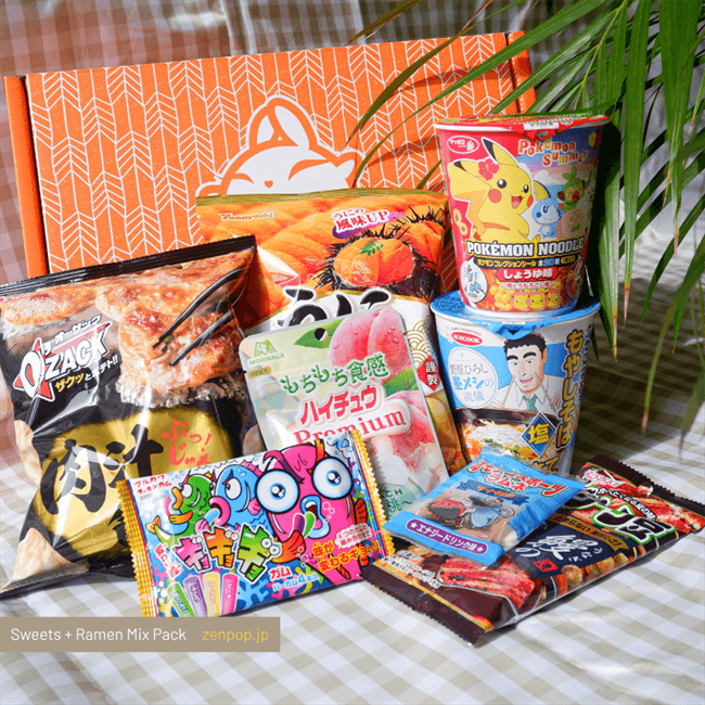 Japanese Ramen + Sweets Subscription Boxes